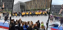 DGI Nordjyllands REPhold Team to DGI Sport and Culture Festival, Aalborg, Street Gymnastics, Denmark