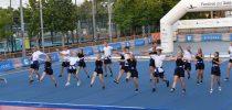 Team VUP, Vissenbjerg Gymnastik, Denmark visited Festival del Sole, Italy, Street Gymnastics.