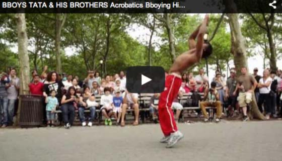 2012 USA Bboy Tata & his Bros - Acrobatics Street Gymnast