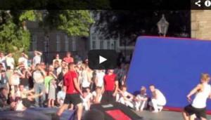 2013 DGI Sydvest - Denmark - Ribe by night - Aspirantholdet 2010-11 - Street Gymnast