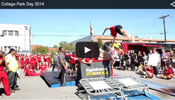 2015 Gymkana Troupe College Park Day Street Gymnast
