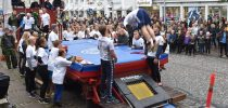 "Street Gymnastics with ""Spring Mod Nord"" by truck to DGI´s Sport & Culture Festival Aalborg"