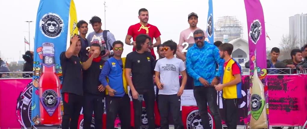 Fast Forward Team hosted a Street Gymnastics Contest held in Iranian Capital, Teheran