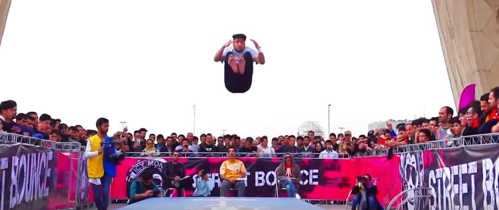 Fast Forward Team hosted a Street Gymnastics Contest held in Iranian Capital, Teheran