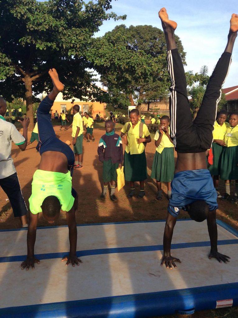 2nd Workshop with Street Gymnastics Uganda was a succes