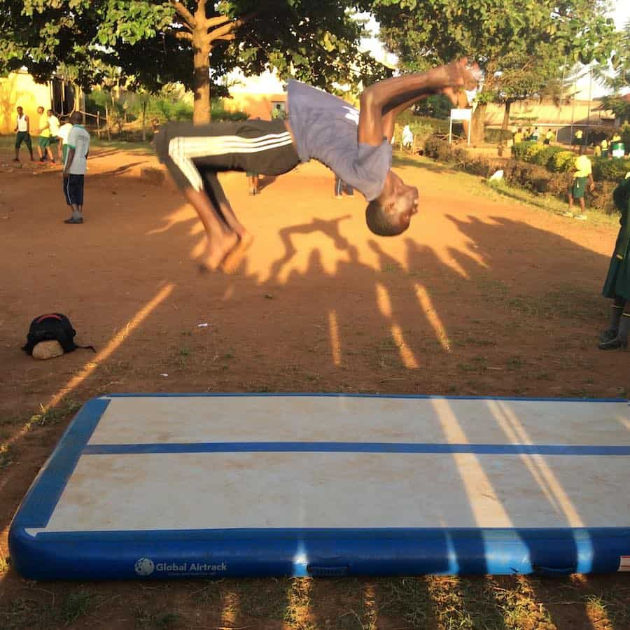 2nd Workshop with Street Gymnastics Uganda was a succes