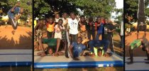 2nd Workshop with Street Gymnastics Uganda was a succes at Katwe primary school