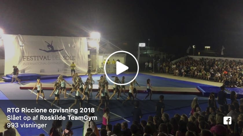 Roskilde TeamGym Junior girls and boys, Festival del Sole, Italy, Street Gymnastics