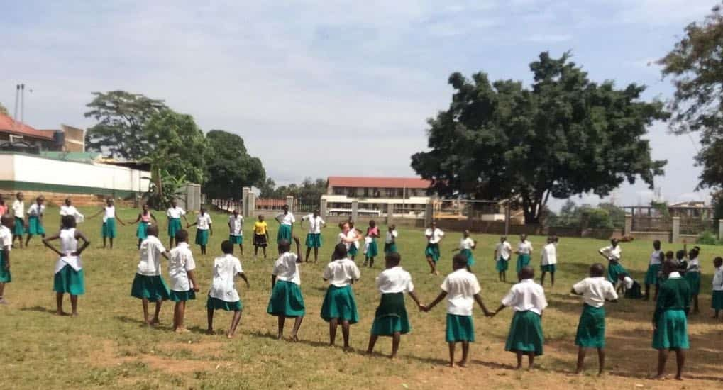 Street Gymnast TV proudly presents workshop with Cecilie and Nicoline from Denmark visited St. Peters Primary School, Kampala, Uganda for a week