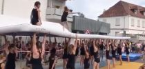 Germany, Street Gymnastics with TVE Gymnastics, Ludwigshafen am Rhein – Edigheim