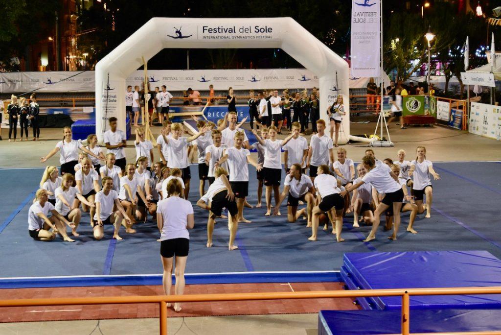 Teamgym Syd and Eskilstrup GF to Festival del Sole, Italy